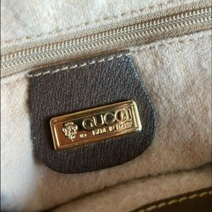 Gucci Bags - -SOLD- Gucci Vintage bucket bag- good condition